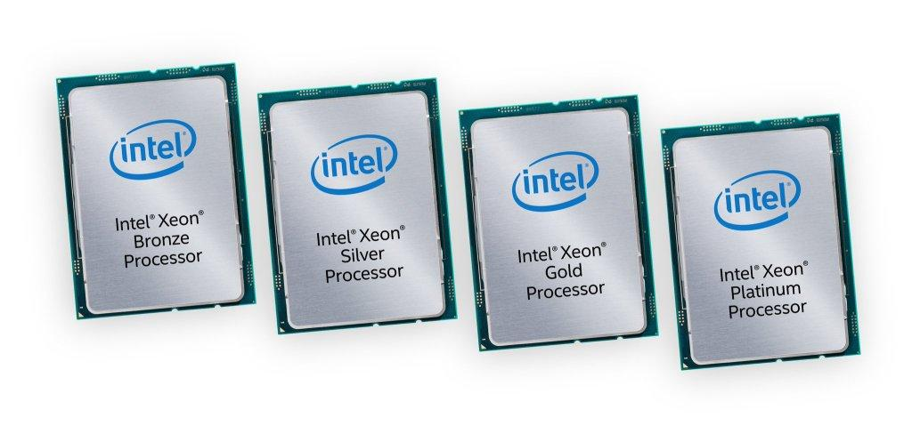 Новые серверы на базе Intel Xeon Scalable