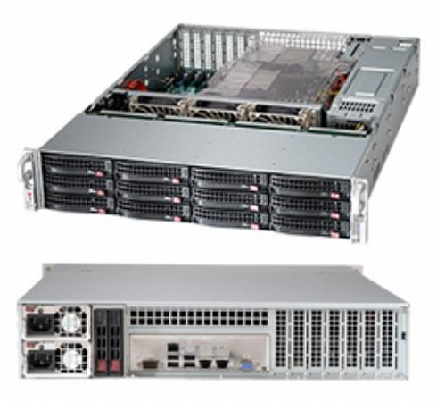 Корпус Supermicro CSE-826BE1C-R920LPB, 2U
